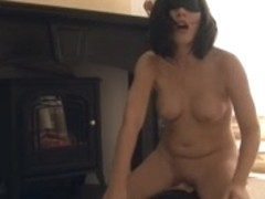 French Gal on Sybian