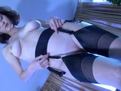 LacyNylons Scene: Carrie