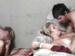 2 Teen Couples Fuck Beside Each Other