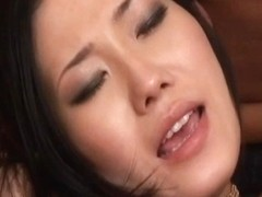 Yui Komine sucks boners and is fucked by them in double