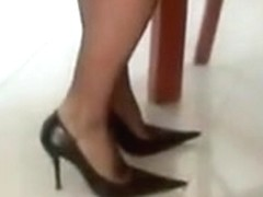 Sexy high heels have