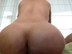 Bored and lonely wife fucks a guy half her...