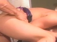 Sexy honey getting a large 10-Pounder