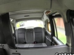 British interracial fake taxi fucking