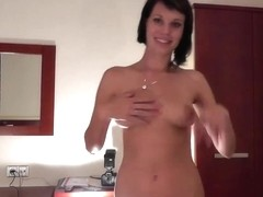 Legal Age Teenager cutie Angie acquires a massive facial!