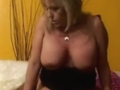 55yr old White Granny Wanda Likes to Engulf and Fuck BBC