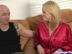 Massage-Parlor: His Lucky Day