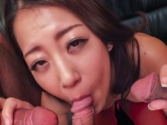 Best Japanese whore Satomi Suzuki in Crazy JAV uncensored Lingerie video