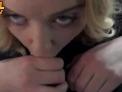 Pretty blonde Chloe Couture hitchhiking for a big black dick
