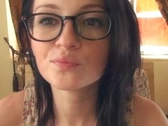 DTF Kira Kennedy in the store who wants to go home and bang with her boyfriend