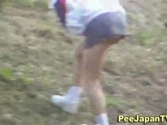 Asian babe caught ###ing outside