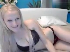 Private show with russian blonde SabrinaElita
