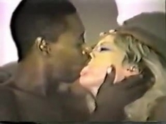 Juvenile Golden-Haired White Wife Riding Hard Her 1St Large Darksome Pecker