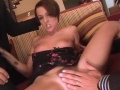 Incredible pornstar Sara Faye in amazing threesome, small tits xxx movie