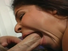 Christian and Laurie are having a very good oral sex together