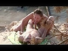 Nude Beach - So Hot Sucking & Fucking captured by Voyeur