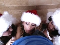 Teens Like It Big: A Brazzers Christmas Party