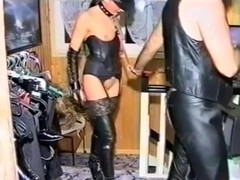 BDSM clip with chicks getting fucked hard