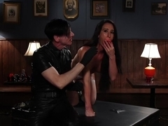 Fabulous gaping, squirting xxx movie with exotic pornstar Virginia Tunnels from Kinkuniversity