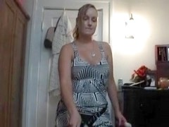 Female-Dom copulates spouse with dick