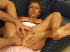 French mature loves painful anal