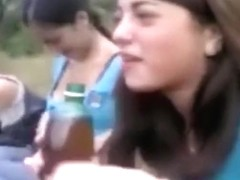 girls go wild and flash their tits' compilation
