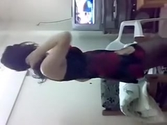 My hot Arab woman i'd like to fuck fuck buddy performing a sexy dance on web camera