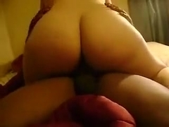 Redhead gets fucked by a black cock.