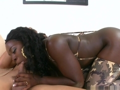 Crazy pornstar Juan Largo in Best Black and Ebony, Facial sex video
