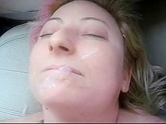 Dunkcrunk non-professional facial compilation Video fifty
