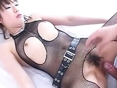 Hottest Japanese girl in Fabulous JAV uncensored Lingerie scene