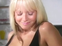 Jana Cova Gets Horny in her Little Black Dress
