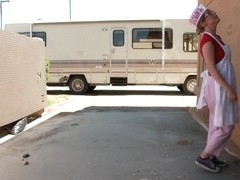 Pennys Trailer trash abduction fantasy comes true