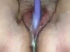 Just a sloppy squirting cumming mess!