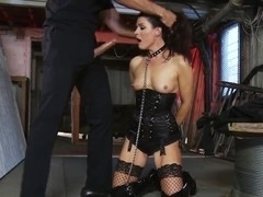 India Summer bondaged and hardcored by her boyfriend Kerian Lee