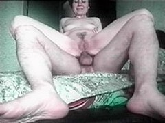 Mature ass riding cock