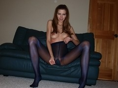 Eufrat Wants You to Stroke to Her Many Pantyhose
