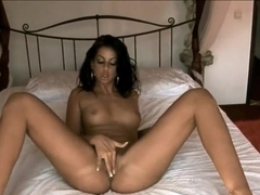 Petite tight ass Larissa Dee teases and gives head