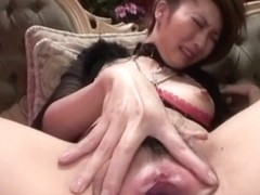 Amazing Japanese slut Rinka Kanzaki in Hottest JAV uncensored Lingerie clip