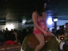 SpringBreakLife Video: Lingerie Bull Riding