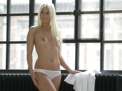 Jessie Volt in White DressVideo