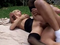 Sexy Breasty Blond mother I'd like to fuck Cougar Banging