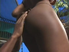 Ebony Slut Loves Her Pussy Filled With Black Cock