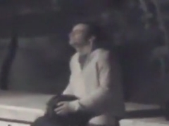 Voyeur tapes multiple couples having sex on the side of the river