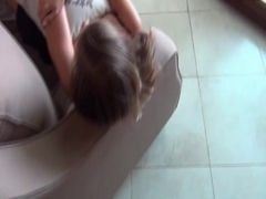 Hawt Austrian legal age teenager anal sex and creampie