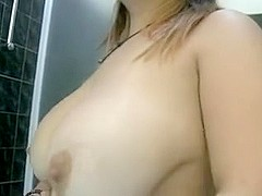 Fat Mature Woman Masturbates With Shower Water Stream And Gets Orgasm