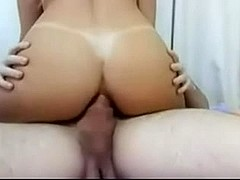 Busty amateur does everything