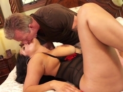 Amazing pornstar in Incredible Lingerie, Latina adult clip