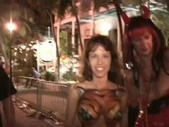 Titties On The Street And The Beach