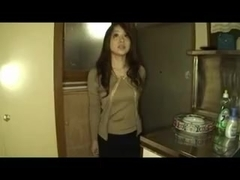 Asian babe in pantyhose gangbang (censored)